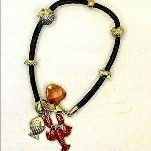 Seahorse Lobster Bracelet Crystal Charm Sea Life